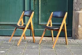 design klappstuhl flex mid century vintage design nürnberg 60er jahre klappstühle
