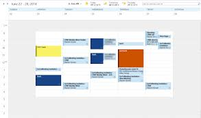 color code your calendar for tracked appointments in microsoft