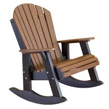 Recycled Plastic Rocking Chairs Cottage Heritage High Fan Back Rocker Cottage