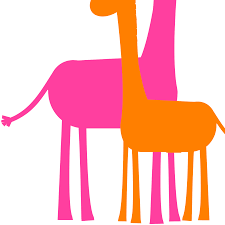 mother and baby giraffe clipart panda free clipart images