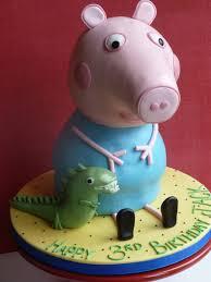 cake peppa pig 3d tutorial buscar con google 3 years gordi
