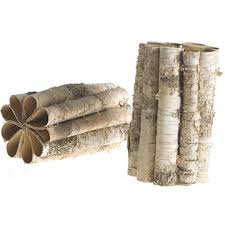 Birch Bark Vases Birch Bark Vases