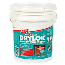 drylok 5 gal white masonry waterproofer 27515 the home depot