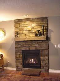 fireplace ideas rustic the fireplace the rustic wood beans