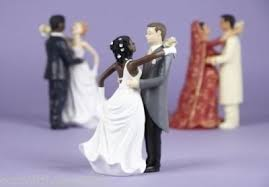 biracial wedding cake toppers wedding cake toppers from confetti heaven invisible