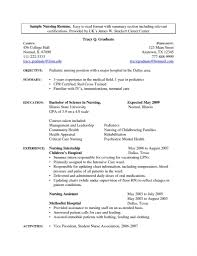 graduate resume template nursing student resume template starua xyz