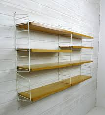Wall Shelves Design by Ash Wall Shelving System By Nisse Strinning For String Design Ab