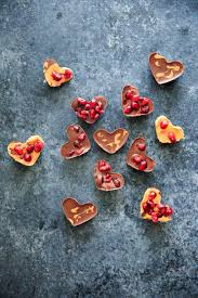 heart shaped candy heart shaped chocolate pomegranate candies 3 ways trial and eater