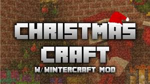 minecraft pc christmas craft series day 15 wintercraft mod