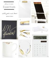Black And White Desk Accessories Office Accessories Design By Occasion