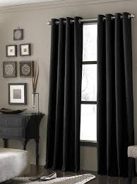 Black Gray Curtains Amazing Black Bedroom Curtains Callysbrewing