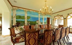 Italian Lacquer Dining Room Furniture Boston Area Italian Dining Room Mediterranean Dining Room For New