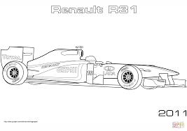 renault r31 formula 1 car coloring page free printable coloring