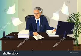 Office Work Images Man Official Paper Office Work Stock Vector 316330031 Shutterstock