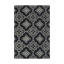 Loews Area Rugs Shop Style Selections Blue Rectangular Indoor Machine Made Area