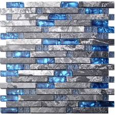 glass backsplashes for kitchens glass tiles amazon com kitchen u0026 bath fixtures kitchen