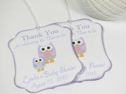 baby shower favor tags baby shower favor tags thank you tags pink