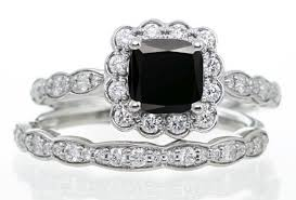simple diamond sets ring diamond wedding ring sets leader cushion cut diamond