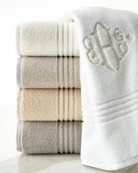solid towels monogrammed u0026 hand towels at horchow