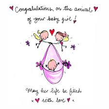 congratulations on new card new s121 congratulations new baby girl card