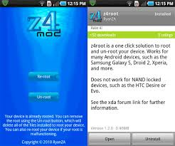 z4root apk gingerbread how to root android phone tablet device tutorial w3epic