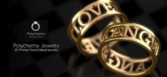 3d printed gold jewellery 3ders org polychemy launches new platform offering personalized