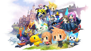Final Fantasy 2 World Map by World Of Final Fantasy Review Ign
