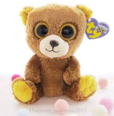 ty beanie boos honey brown bear 6