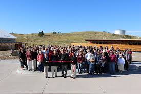 alumni ribbons ribbons cut at csc s rangeland complex chicoine center news