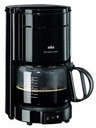 designer kaffeemaschinen de braun aromaster kf 47 inkl schwarze kaffeemaschine