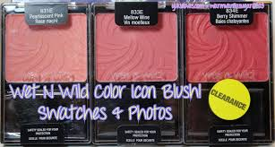 wet n wild halloween wet n wild color icon blushes u2013 pearlescent pink berry shimmer