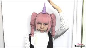 4 last minute halloween diys pastel unicorn horn totoro leaf