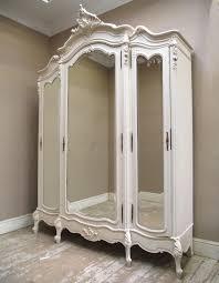 Door Armoire If2456 Antique Triple Door Armoire