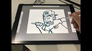 outlines in sketchbook pro youtube