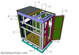 2 Person Deer Blind Plans Deer Blind Plans 4x6 Myoutdoorplans Free Woodworking Plans And