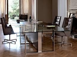 modern boardroom table contemporary boardroom table wooden glass steel altagamma