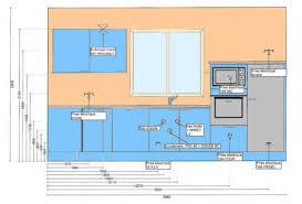plan implantation cuisine plan de fabrication et implantation de cuisine exemples la