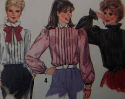 button back blouse pattern simplicity 9401 miss 16 peter