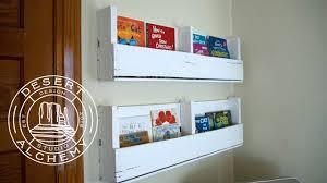 pallet bookshelf diy build desert alchemy design youtube