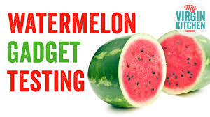 kitchen gadget testing watermelon gadgets youtube