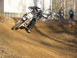 redid the backyard mx track this weekend dirt bike pictures