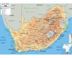 Northern Africa Map by Maps Of South Africa Detailed Map Of Republic Of South Africa In