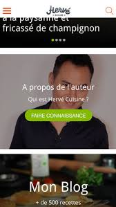 cuisine hervé herve cuisine on the app store