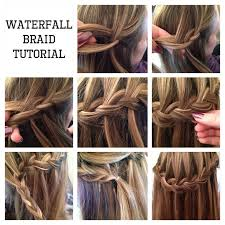 tutorial rambut waterfall fast and easy hairstyle that can be done in 10 minutes all for