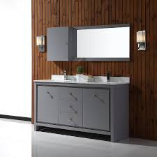 Ove Decors Bathroom Vanities Shop Ove Decors Kevin Pebble Gray Undermount Sink Bathroom