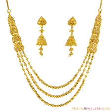 gold small necklace designs images Best gold necklace set designs mukun top quality fashion dubai gold jpg