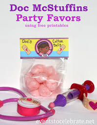 doc mcstuffins party ideas doc mcstuffins party favors events to celebrate