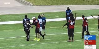 Nfl Challenge Flag Kirk Cousins Shoves An Official During Celebrity Flag Football