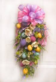 spring door wreaths easter egg spring door swag spring door wreath easter door