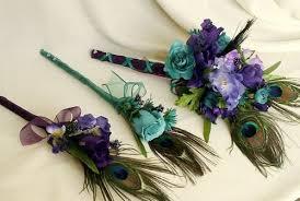 peacock wedding peacock wedding bouquet 21st bridal world wedding ideas and